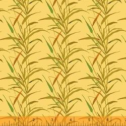 Wild Grass in Goldenrod