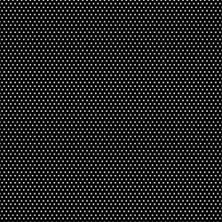 Small Winter Dot in White on Black