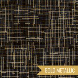 Quilter's Linen Metallic in Black