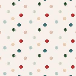 Painted Polka Dot in Cream