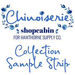 Chinoiserie Sample Strip