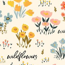 Large Field of Wildflowers in Bliss