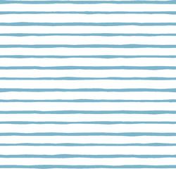 Artisan Stripe in Surf on White