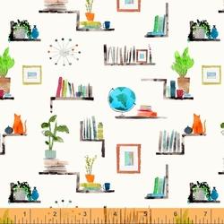 Bookshelf in Ivory