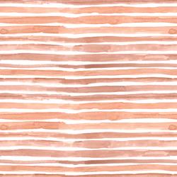 Watercolor Wash Stripe in Blush