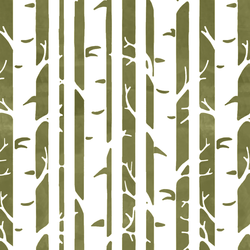 Birches in Jungle