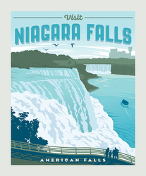 Poster Panel in Niagra Falls