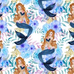 Mermaid Song in White