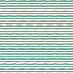 Painted Stripe in Green