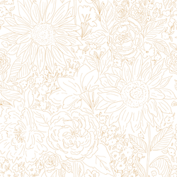 Paperie in Honey Gold on White