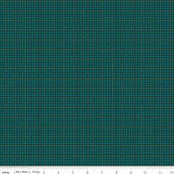 Plaid in Dark Green