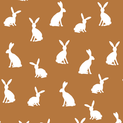 Cottontail Silhouette in Ginger