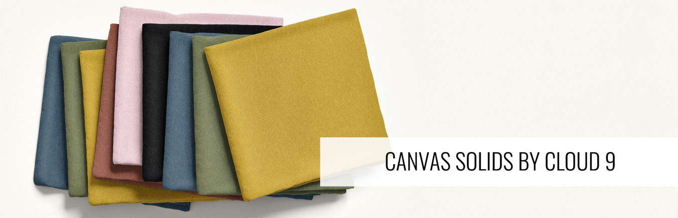 Canvas Solid by Cloud 9