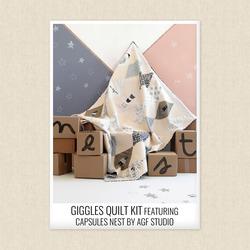 Giggles Quilt Kit