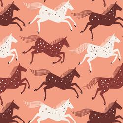 Wild Horses in Blushing
