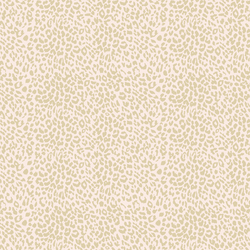 Small Leopard in Soft Taupe on Soft Pink