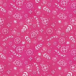 Flower Stamp in Rose