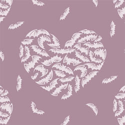 Winged Hearts in Celestial