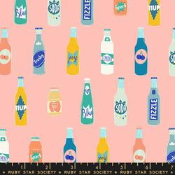 Pop Bottles in Peach Fizz