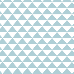 Triangle Mosaic in Powder Blue