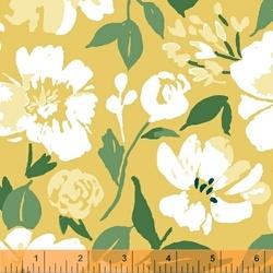 Painted Floral in Lemon