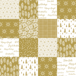 Winter Forest in Gold