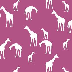 Giraffe Silhouette in Azalea