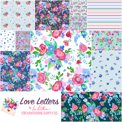 Love Letters Fat Quarter Bundle