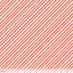 Peppermint Stripes in Red