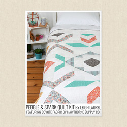 Pebble and Spark Quilt Kit