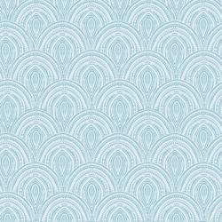 Fun Stitched Scales in Blue