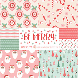 Be Merry Fat Quarter Bundle in Merry