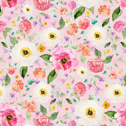 Sweet Treat Floral in Bubble Gum