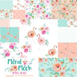 Floral Flock Fat Quarter Bundle Small Scale
