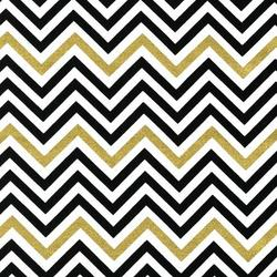 Zig Zag Stripe in Ebony Metallic