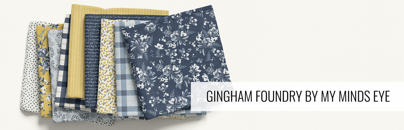 Gingham Foundry by My Minds Eye
