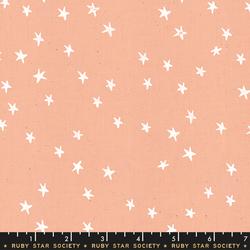 Stars in Peach