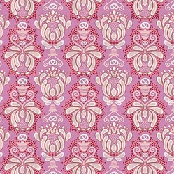 Vienna Damask in Pink