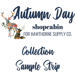 Autumn Day Sample Strip