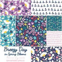 Breezy Day Fat Quarter Bundle in Floral Breeze
