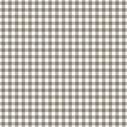 Western Gingham in Saddle