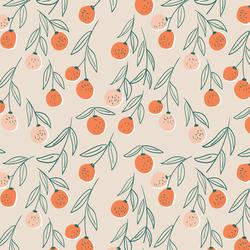 Citrus Fruits in Orange