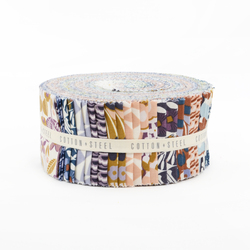 "Penny Cress Garden 2.5"" Strip Roll"