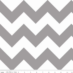 Large Chevron in Gray