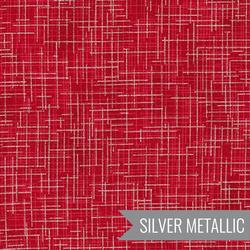 Quilter's Linen Metallic in Cardinal