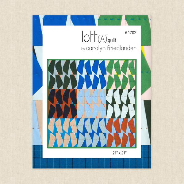 Lott(A) Quilt Sewing Pattern