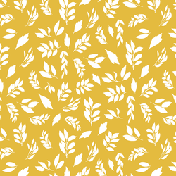 Leaves in Autumn Gold