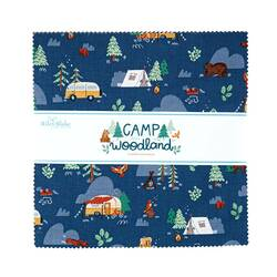 """Camp Woodland 10"""" Square Pack"""