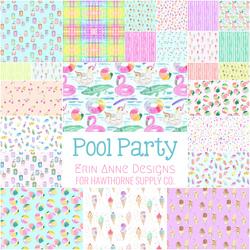 Pool Party Fat Quarter Bundle