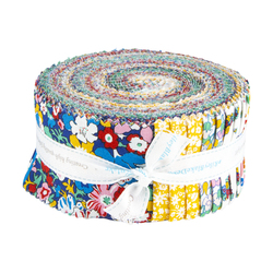 """The Carnaby Collection 2.5"""" Strip Roll in Bohemian Brights"""